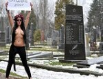 Use your body to protest and fight, say Ukrainian activists Femen