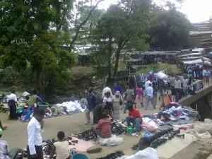 Blantyre market, Malawi