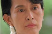 Aung San Suu Kyi runs for Parliament in Burma