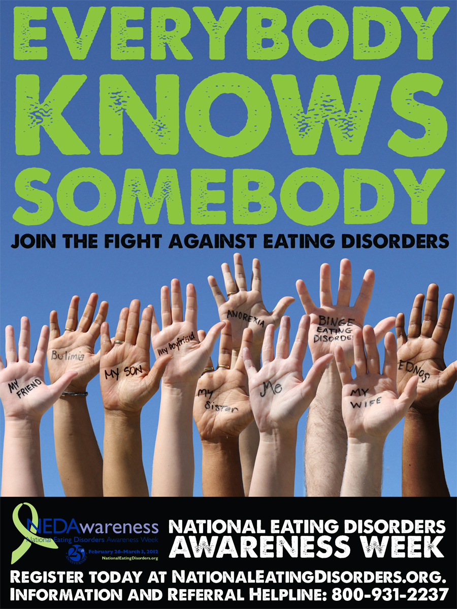 eating disorder awareness posters wwwimgkidcom the