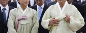 "South Korea's president seeks compensation for ""comfort women"""