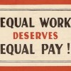 Fight for equal pay hits new blocks