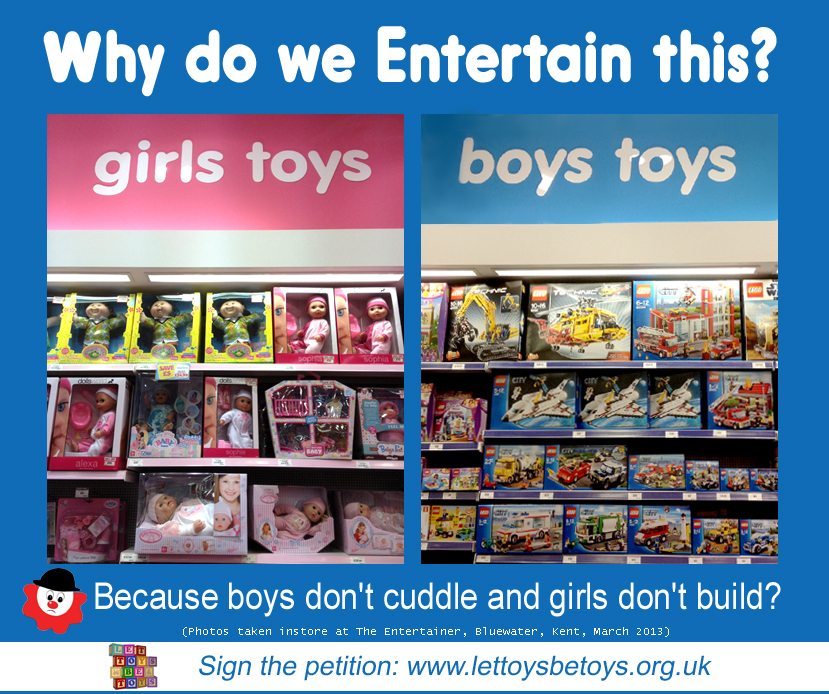 Girls From Boy Toys : More toys divided for boys and girls women s views