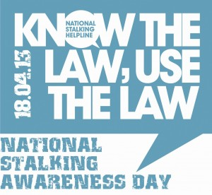 national stalking awareness day, women's rights, safety, police