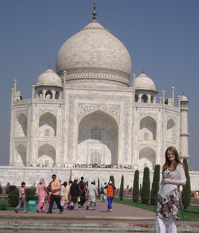 Taj Mahal, women travelling, India, London