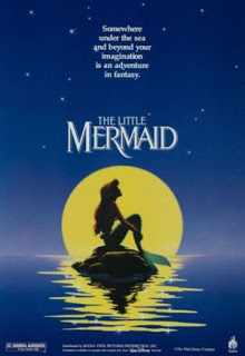 Movie poster, the little mermaid,