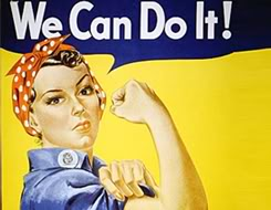 Rosie the riveter, Trouble and Strife,feminist archive online