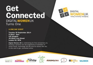 digital women UK, anniversary event, Julie Tomlin, Get Connected