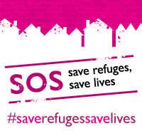 Women's Aid, campaign, SOS save refuges save lives