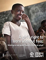 Plan UK, girls' rights,
