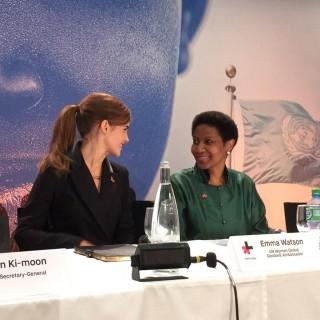 Emma Watson, HeForShe, Davos, IMPACT10x10x10, UN Women