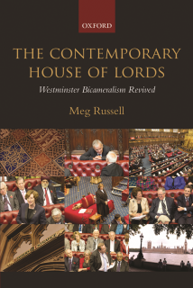 meg russell, book, house of lords,