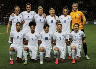 England women, football