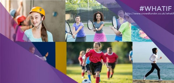 what if... campaign, women in sport, girls, media, crowdfunder