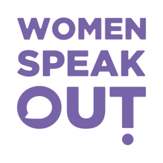 women speak out, video project, training project
