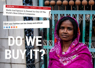 Behind the Label, campaign, living wage, H&M, M&S, report, poverty, supply chain