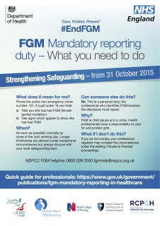 UK government, new guidelines, FGM
