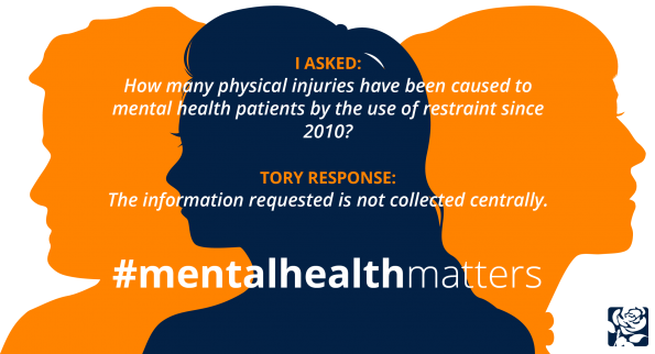Luciana Berger, mental heath matters, 30 tweets, no answers from government