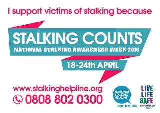 Stalking Awareness Week, Avon and Somerset Constabulary, campaigns