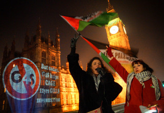 international women's day, london, protest, G4S, women and girls, prisons, Israel, Palestine