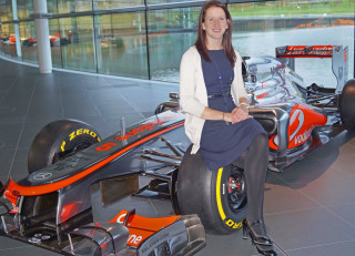 Katie Lawrence, motorsport engineer, interview, Natasha Turner