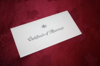 marriage certificates, mother's name, Caroline Lucas, David Cameron