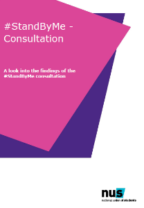 StandByMe consultation, short manifesto, sexual violence at universities