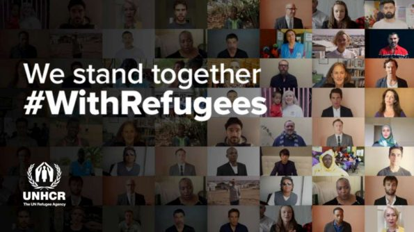 #withrefugees, world refugee day, UNHCR, Liberty, Petition