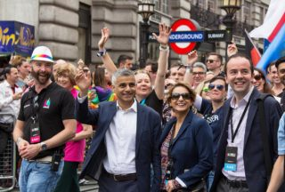 sadiq khan, mayor of london, gender pay gap audit, Pride