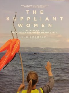 The Suppliant Women, Royal Lyceum Theatre, Edinburgh, touring to Belfast, Newcastle