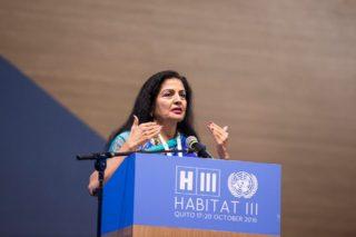 Habitat III, Quito, Lakshmi Puri, women and cities, New Urban Agenda