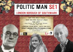 Ada Salter, Alison Mead, play, Politic Man, Bermondsey