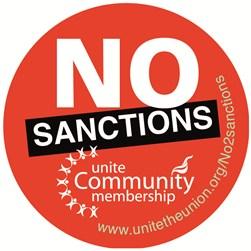 UNITE the union, Unite Community, jobcentre protests, end sanctions