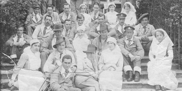 RCN, Molly Case, urses in wartime, exhibition, writerin-residence, never forget