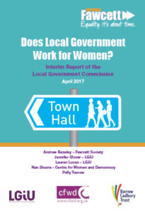 Fawcett Society interim report, survey of councillors, sexism, harassment