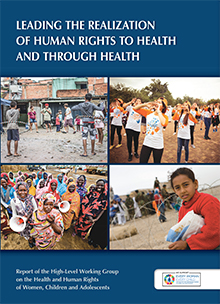 WHO report, the human right to health, #standingup4humanrights,