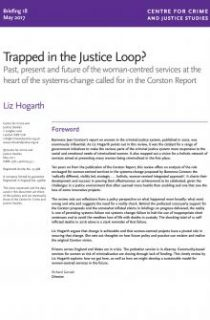 women's deaths in prison, woman-centred services, Corston report, review of progress, Liz Hogarth, probation service, deaths in prison