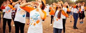 Going orange one day a month – with purpose