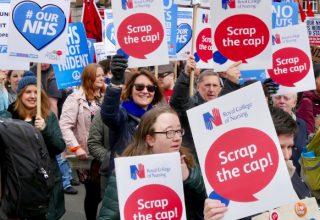 RCN, public sector pay cap, Summer of Protest, Queen's Speech