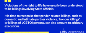Gender's role in your right to life
