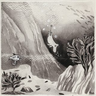 Tove Jansson, exhibition, illustrator, painter, Moomin author, retrospective, Dulwich Picture Gallery