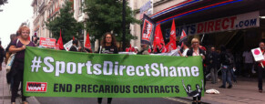 Seems Sports Direct failed on promise