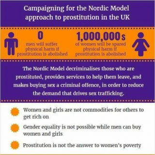 Nordic Model Now!, decriminalise the prostituted, make buying sex illegal, fight female poverty