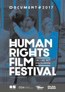 CCA Glasgow, October 2017, film festival, human rights film festivalal