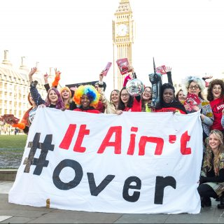 #ItAin'tOver, Youth Stop AIDS, campaign, young people, AIDS, UK funding, Amsterdam meeting