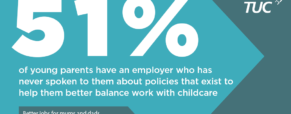 TUC report on young working parents