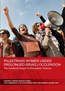 Universal Periodic Review, Israel, women in Palestine, WILPF, report