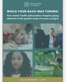 mental health foundation, report, gender government strategy, women and girls in crisis