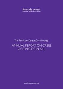 Karen Ingala Smith, Femicide Census, report, 2016, women killed by men