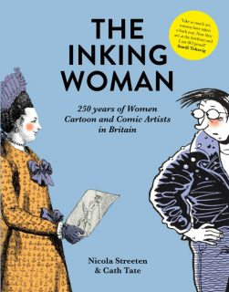 The Inking Woman, women, cartoons, comics, Rupert Bear, new book, pre-order now
